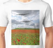 The Two Lancasters - We Remember Them ! Unisex T-Shirt