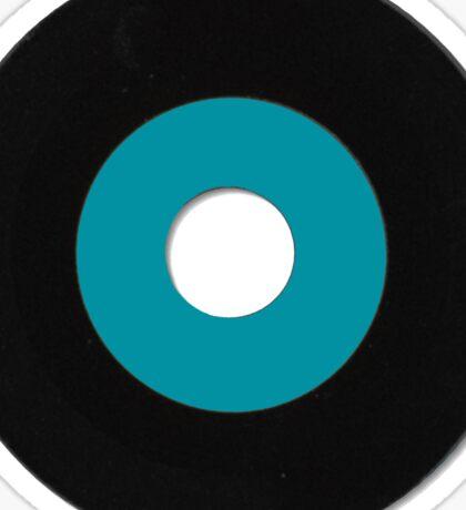 VINYL blue Sticker