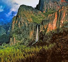 BRIDALVEIL FALLS by Chuck Wickham