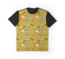 90s life pattern Graphic T-Shirt