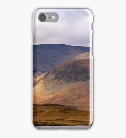 Hercules passes Black Mount, Highlands Scotland iPhone Case/Skin