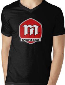 MONTESA Mens V-Neck T-Shirt