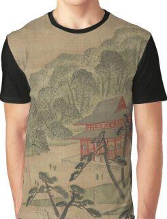 Fukeiga 18 - Hiroshige Ando - 1890 Graphic T-Shirt