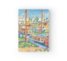 Dodgeville, small town, traffic Hardcover Journal