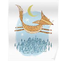 Flying Fox Poster