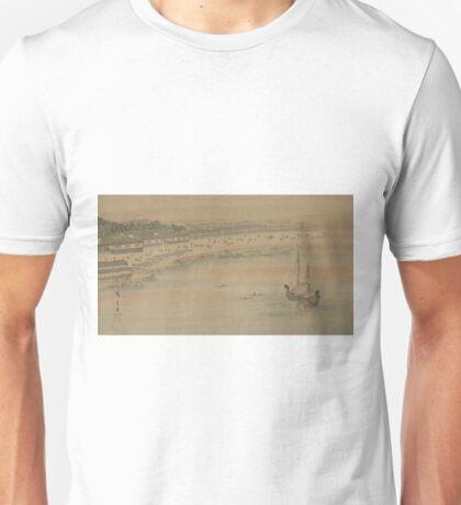Fukeiga 16 - Hiroshige Ando - 1890 Unisex T-Shirt