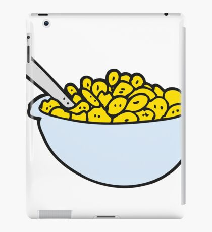 cartoon bowl of cereal iPad Case/Skin