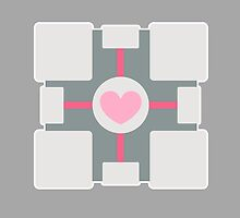 Companion cube by AdrianTTD