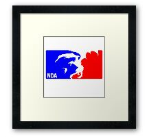 National Dragonslayers Association (NDA) Framed Print