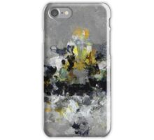 Cityscape Abstract Painting iPhone Case/Skin