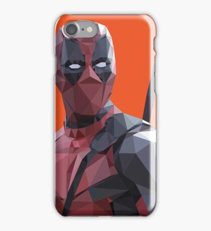 Polygonal Deadpool iPhone Case/Skin
