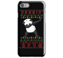 "Merry ""Dabbin' Bear"" Christmas iPhone Case/Skin"