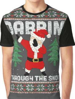 "Merry ""Dabbin' Santa"" Christmas Graphic T-Shirt"