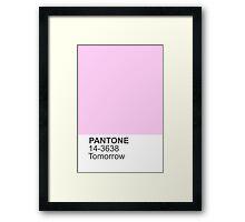 PANTONE Tomorrow Framed Print