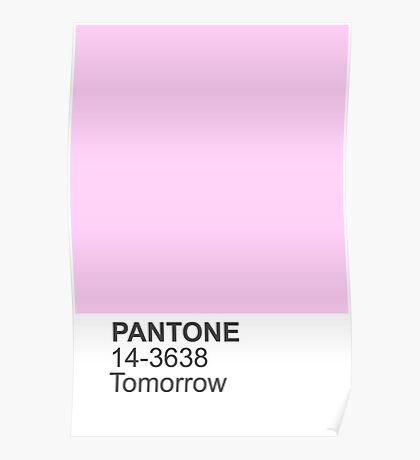 PANTONE Tomorrow Poster