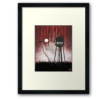 Night at the Water Tower Framed Print