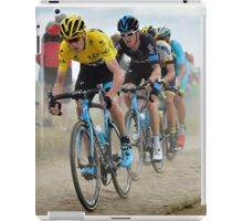 Tour de France 2015 cobbles iPad Case/Skin
