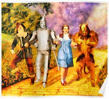 The Wizard of Oz Cast Poster