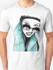 Turquoise Jessie J Unisex T-Shirt