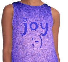 Joy by Nikki Ellina Contrast Tank