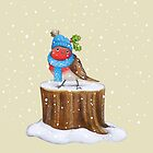 Robin in the Snow by Katie Corrigan