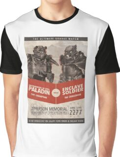 Brotherhood vs Enclave Graphic T-Shirt