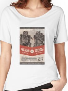 Brotherhood vs Enclave Women's Relaxed Fit T-Shirt