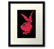 Playboy Turtle: Raphael Framed Print