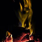 Vertical Fire - Beach Barbeque,Real Colours. by rennaisance