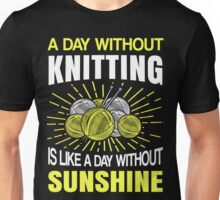 Best Knitting Design Unisex T-Shirt