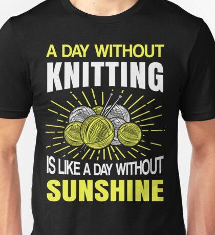 Best Knitting Design Unisex T-Shirt