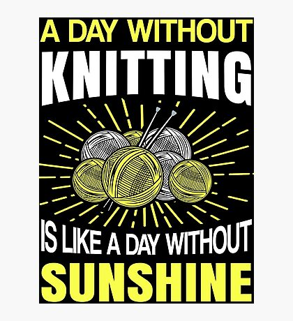 Best Knitting Design Photographic Print