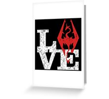 Skyrim Love Greeting Card