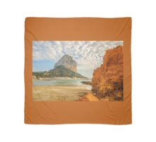 The Rock of Ifach aka Calpe Rock  Scarf
