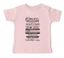 I Am a Princess Baby Tee
