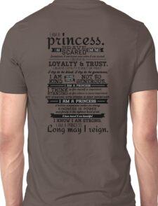 I Am a Princess Unisex T-Shirt