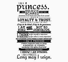 I Am a Princess Mens V-Neck T-Shirt