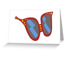 Glasses Clear Greeting Card