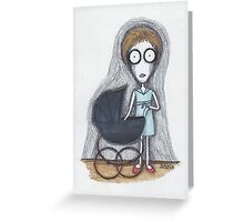 rosemary's baby Greeting Card