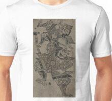 Benkei fukuro musha tsuru no hitokoe - Masanobu Okumura - 1711 Unisex T-Shirt