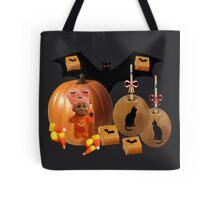 CHILDRENS--TRICK OR TREAT TOTE BAG OR PILLOW Tote Bag