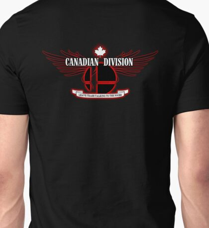 Super Smash Bros. Canadian Division Unisex T-Shirt