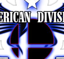 Super Smash Bros. American Division Sticker