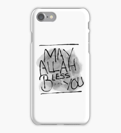 May Allah Bless You iPhone Case/Skin