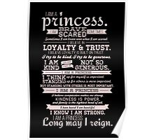 I Am a Princess (version 2) Poster