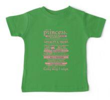I Am a Princess (version 2) Baby Tee