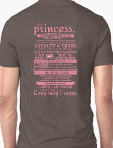 I Am a Princess (version 2) T-Shirt
