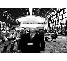slender man at san japan  Photographic Print