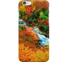 WATERFALL,GRAVEYARD FIELDS iPhone Case/Skin