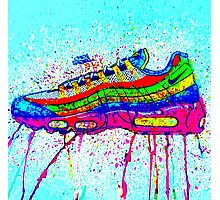 AIRMAX 95 ABSTRACT COLOUR Photographic Print